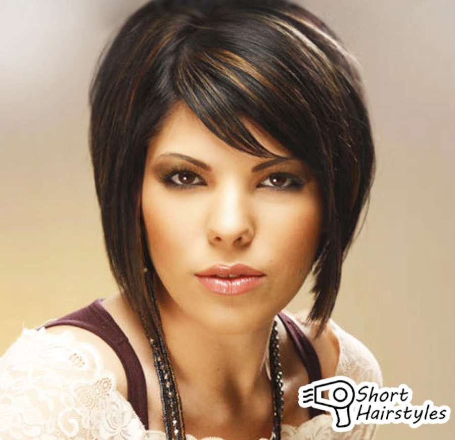 Short Brunette Hairstyles With Highlights 2014. Most important, they detail the external images of ladies hair model. Also, hair image varies every year.