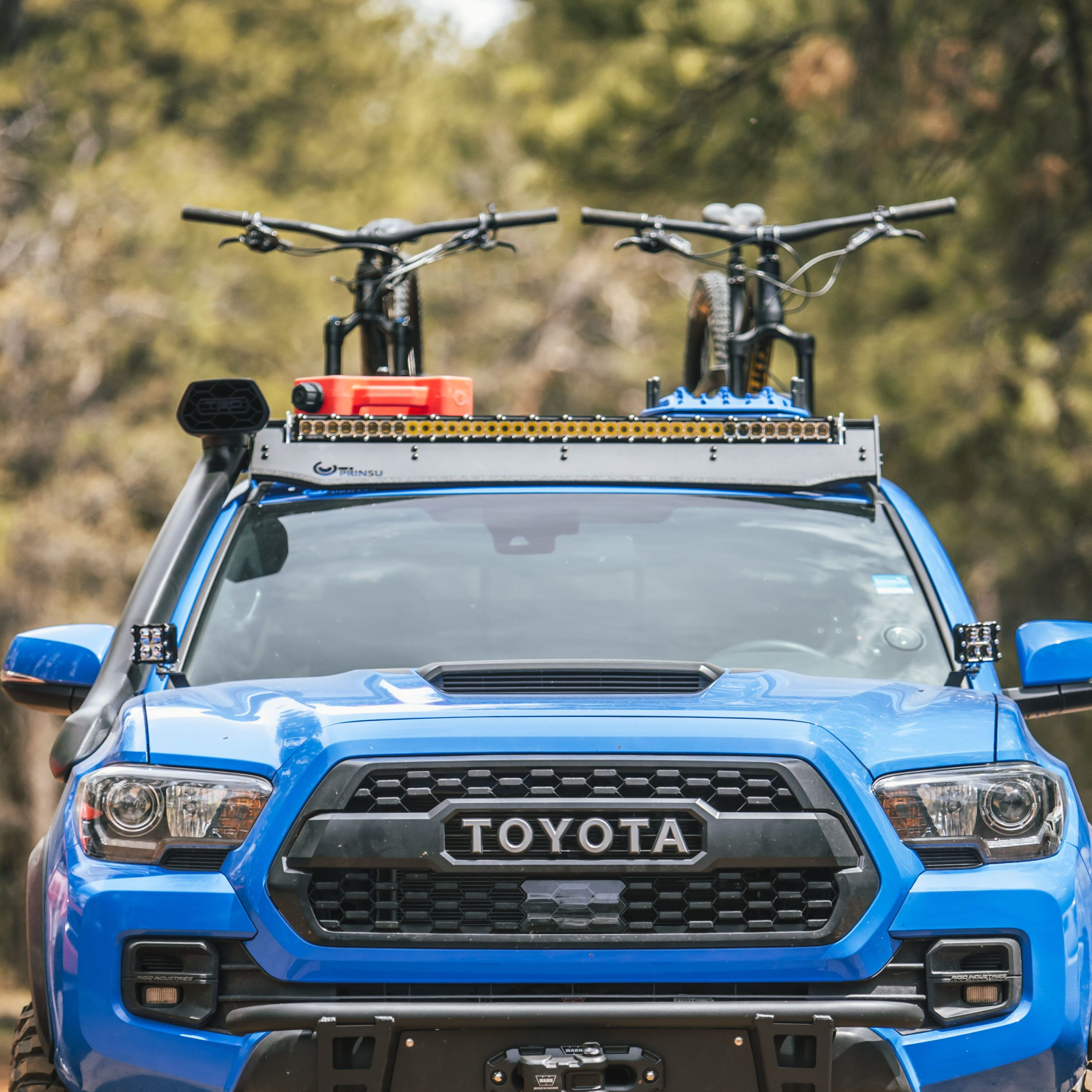 Special Edition T2/T3 Cab Rack with Toyota Desert Air
