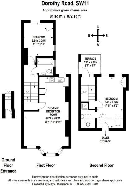 Floorplan Loft Conversion Plans Floor Plans London House