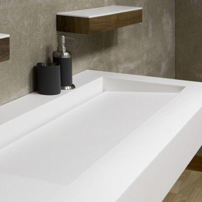 Vasque en corian tennessee bathrooms vasque salle de bain salle de bain et salle de bains - Corian salle de bain ...