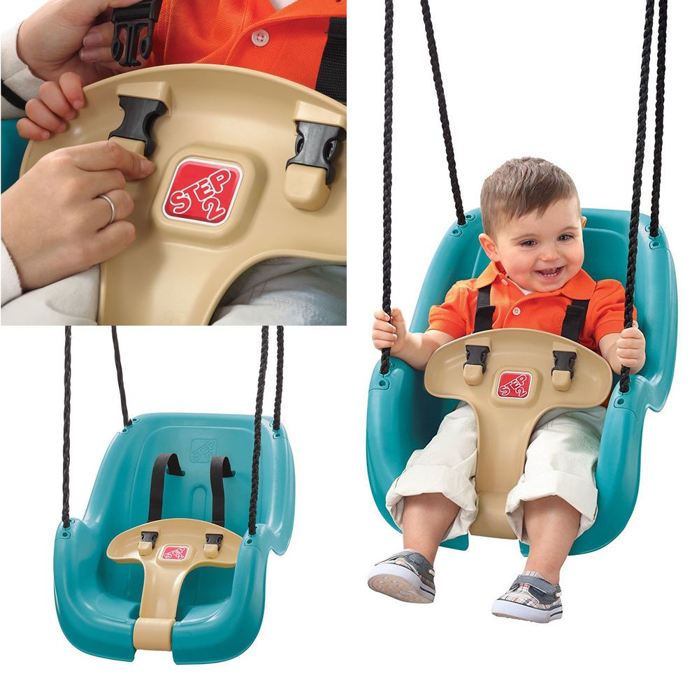 Baby Swing Seat Toddler Chair Babies Tots Toy Outdoor Playground