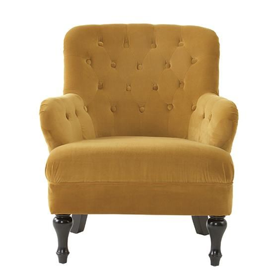 Nora Accent Chair   Tufted Accent Chair   Upholstered Chairs |  HomeDecorators.com