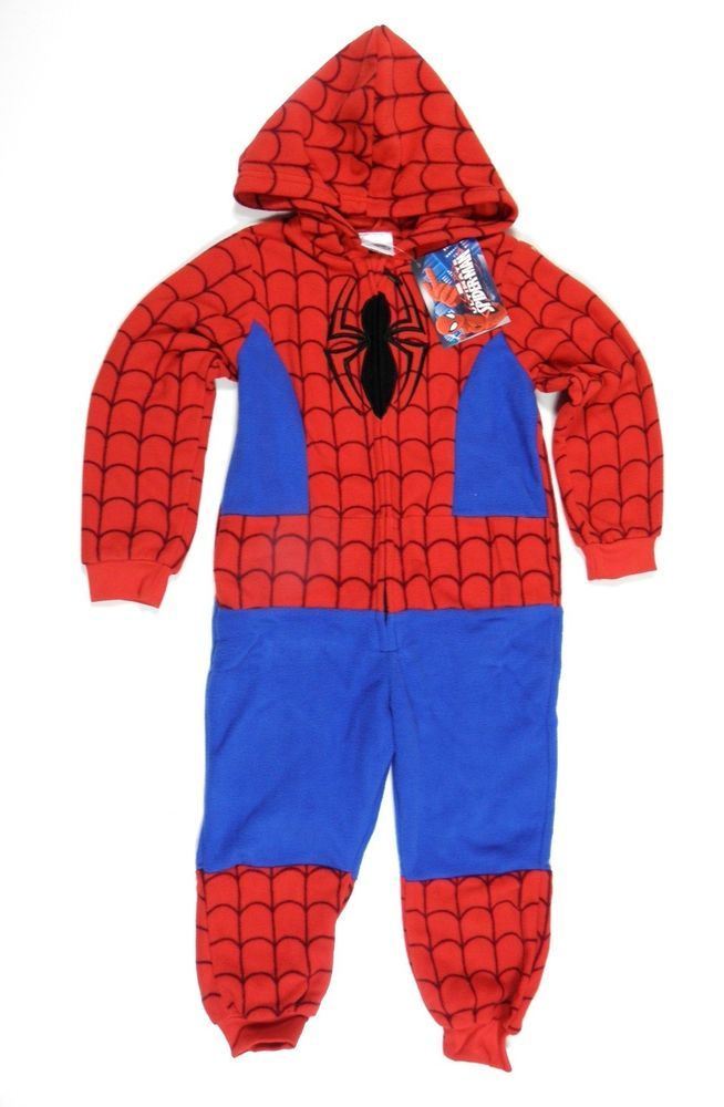 Pajamas suit hoodie Official Marvel boy Spiderman 3 to the 10 years