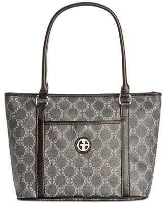 Giani Bernini Handbag Check Signature