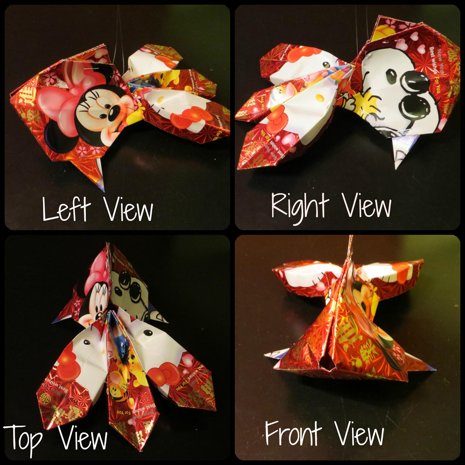 Fish Lantern using Ang Bao / Pow | Fish lanterns, Chinese ...