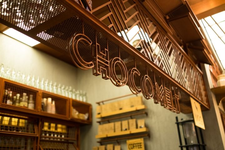 Chocomelt Café By Partyspacedesign The Avenues Mall Kuwait