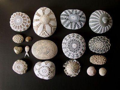 Doiled rocks