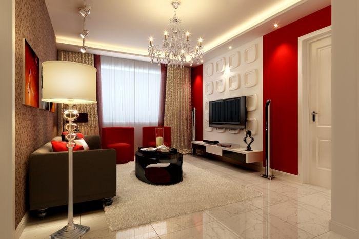 Wohnzimmer Gestalten Tv Wandpaneele Wandgestaltung 3d Wandpaneel 3D