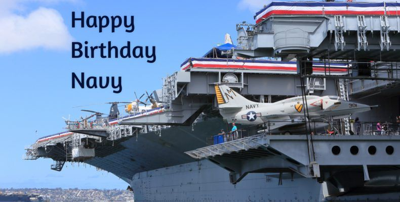 On October 13 1775 The United States Navy Was Established The Day Is Celebrated As The Birth Date Of The American Navy A Us Navy Birthday Navy Birthday Navy