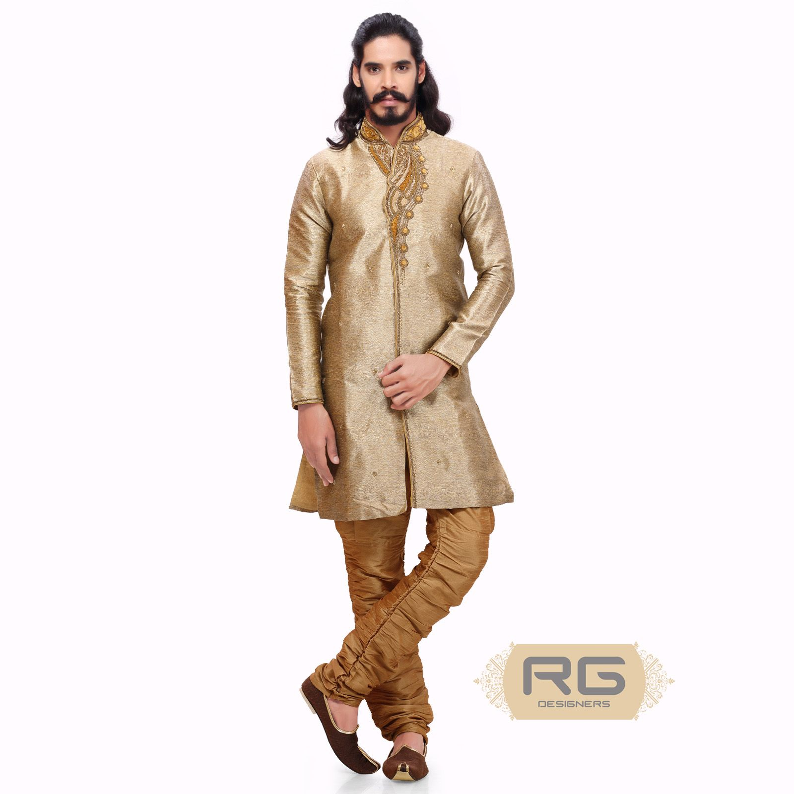 Elegant Indo Western suit when worn, imparts a regal look. Its ...