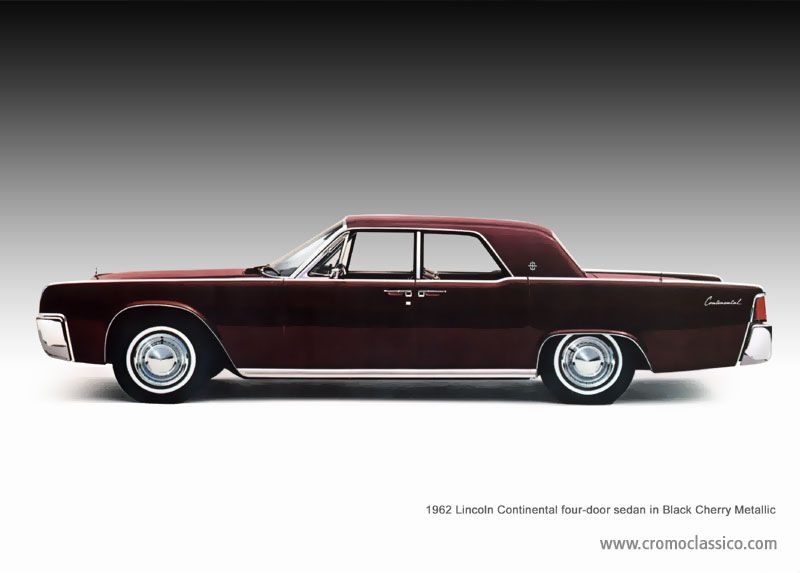 The History Lincoln Continental 1961 1969 Billy Pinterest