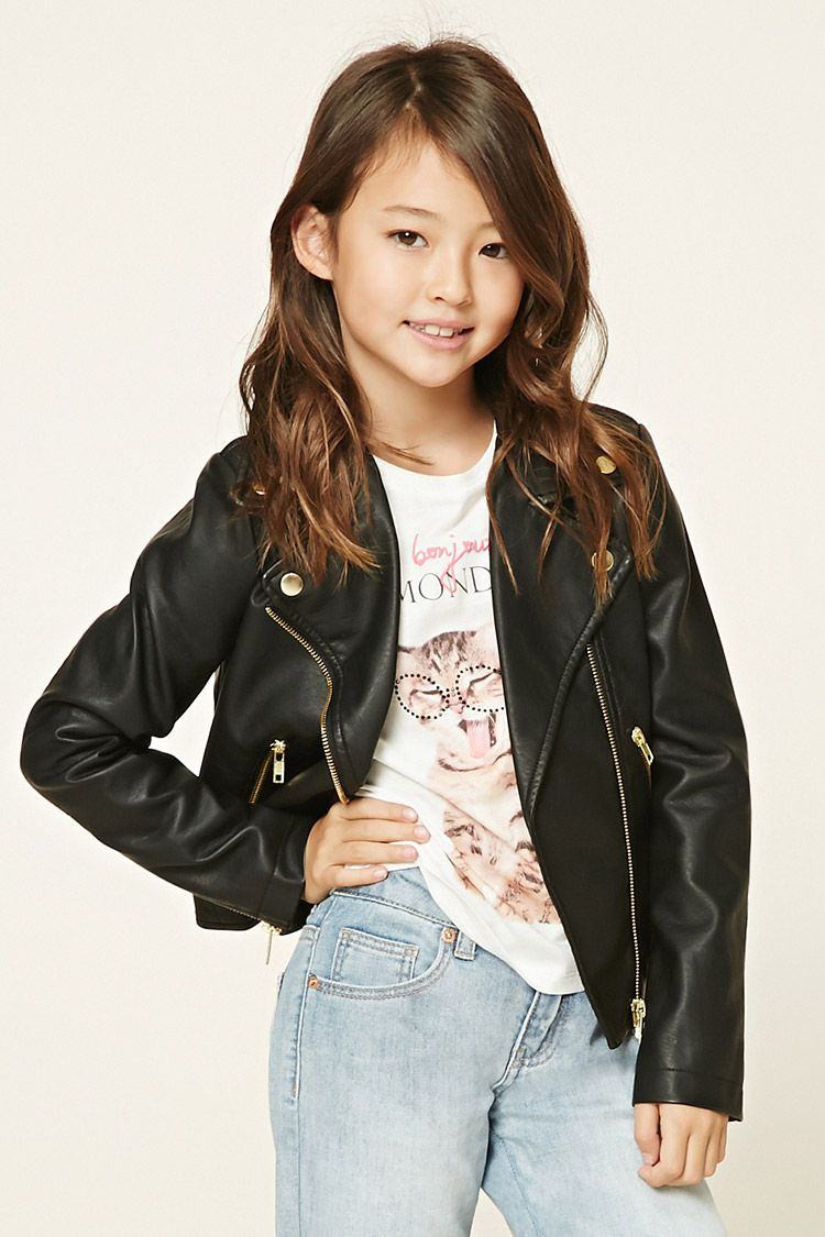 Leather jackets for teenagers