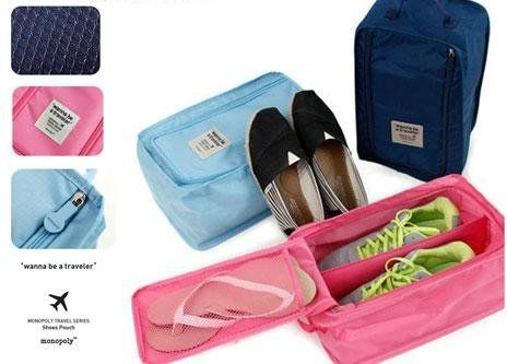 #Girlsfashionsense #travelshoepouch #shoepouch  Urban Living Travel Shoe Pouch For Your Priceless Shoes(20.32X30.48X17.78 Cm,Sky Blue)