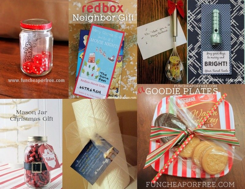 24 Last Minute Neighbor Gift Ideas Fun Cheap Or Free Neighbor Gifts Mason Jar Christmas Gifts Neighbor Christmas Gifts