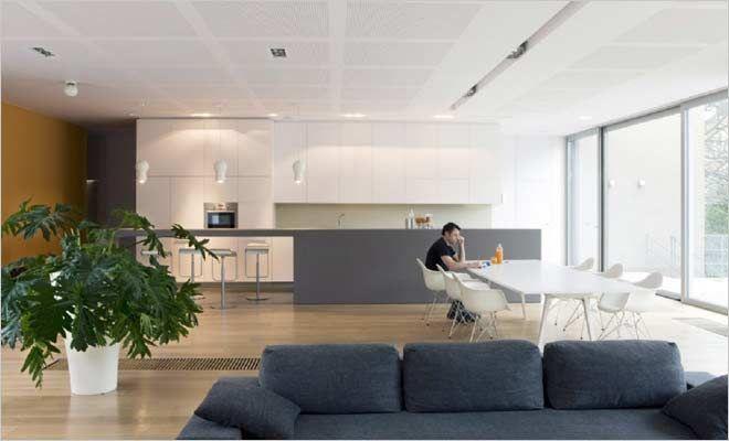 loft open keuken en woonkamer - Inrichting huis | Pinterest - Open ...