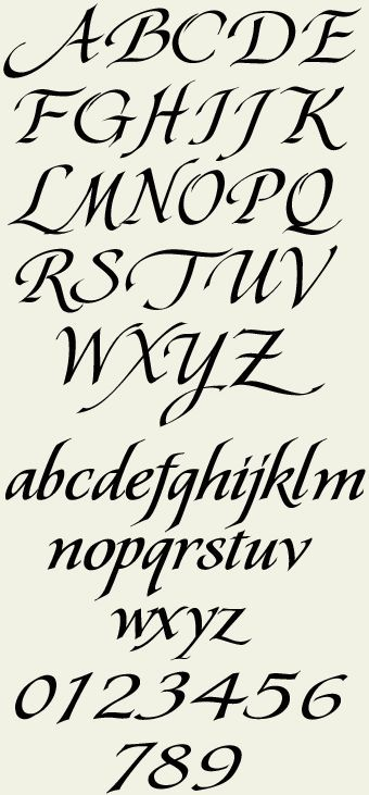 Letras Letras Para Tatuajes Fuentes Cursivas Para Tatuajes Alfabeto Caligrafia