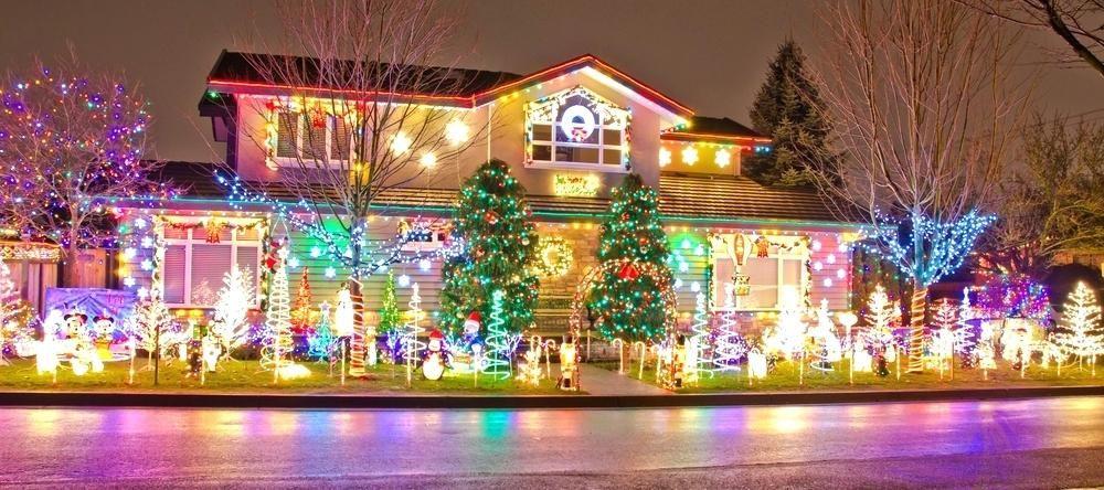 Holiday Yard Decorations Holiday Lights Display Custom Lawn City