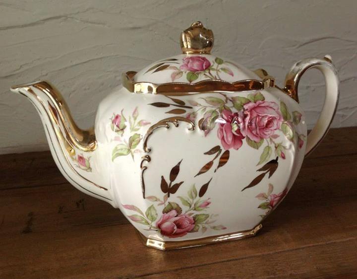 Vintage Sadler Teapot Gloria S Tea Party Teapot Dreams