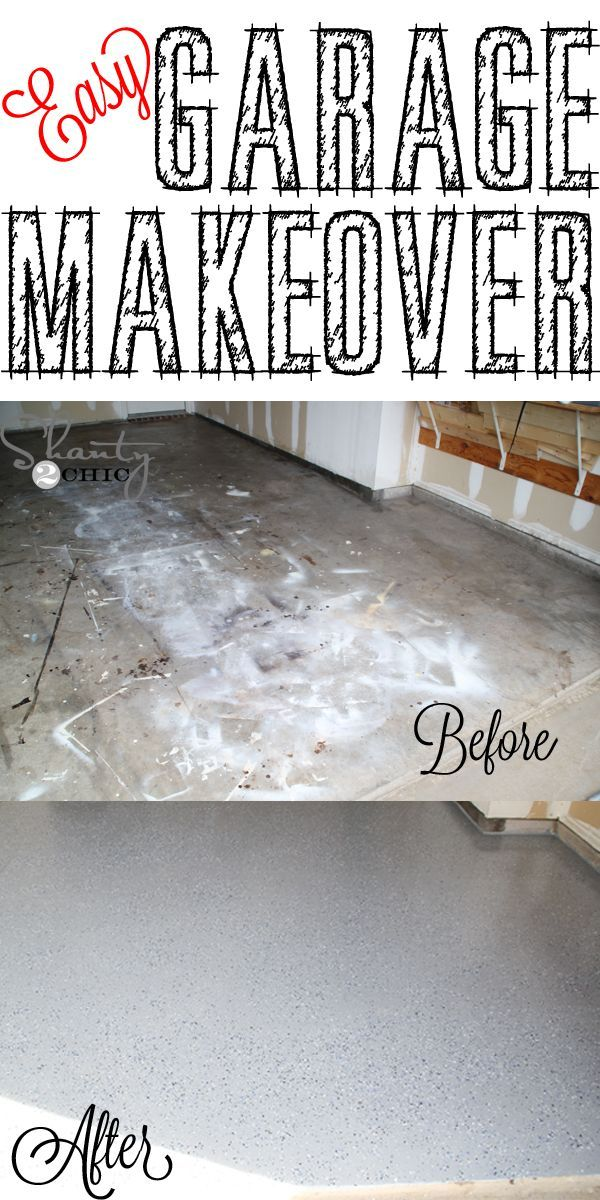 Easy garage makeover and a giveaway diy garage nice and easy diy garage floor makeover easy enough to do by yourselfd the solutioingenieria Images