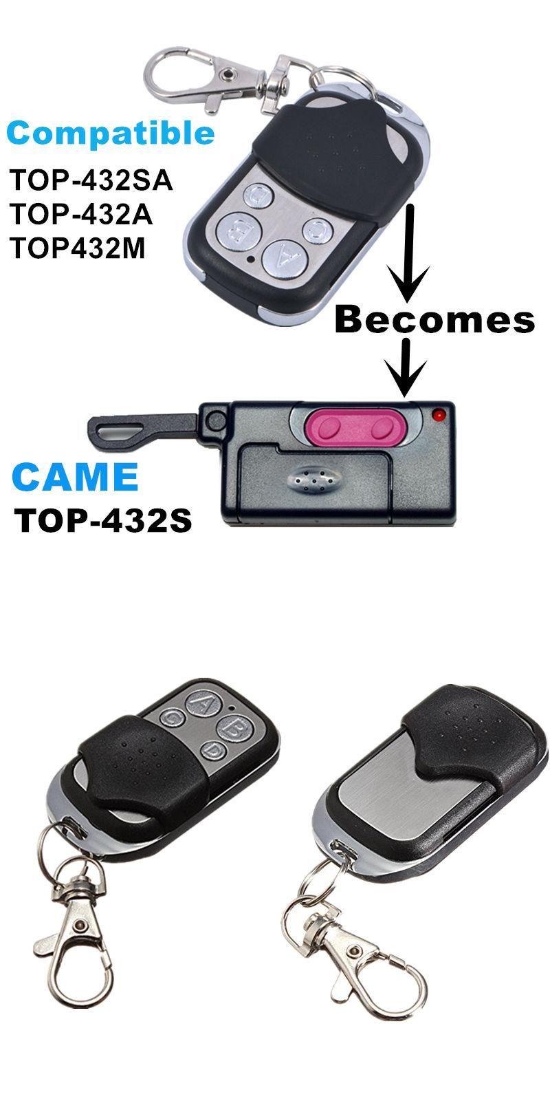 433 Copy CAME TOP-432S Duplicator 433.92 mhz remote control Universal Garage Door Gate Fob Remote Clone 433mhz fixed code  sc 1 st  Pinterest & 433 Copy CAME TOP-432S Duplicator 433.92 mhz remote control ...