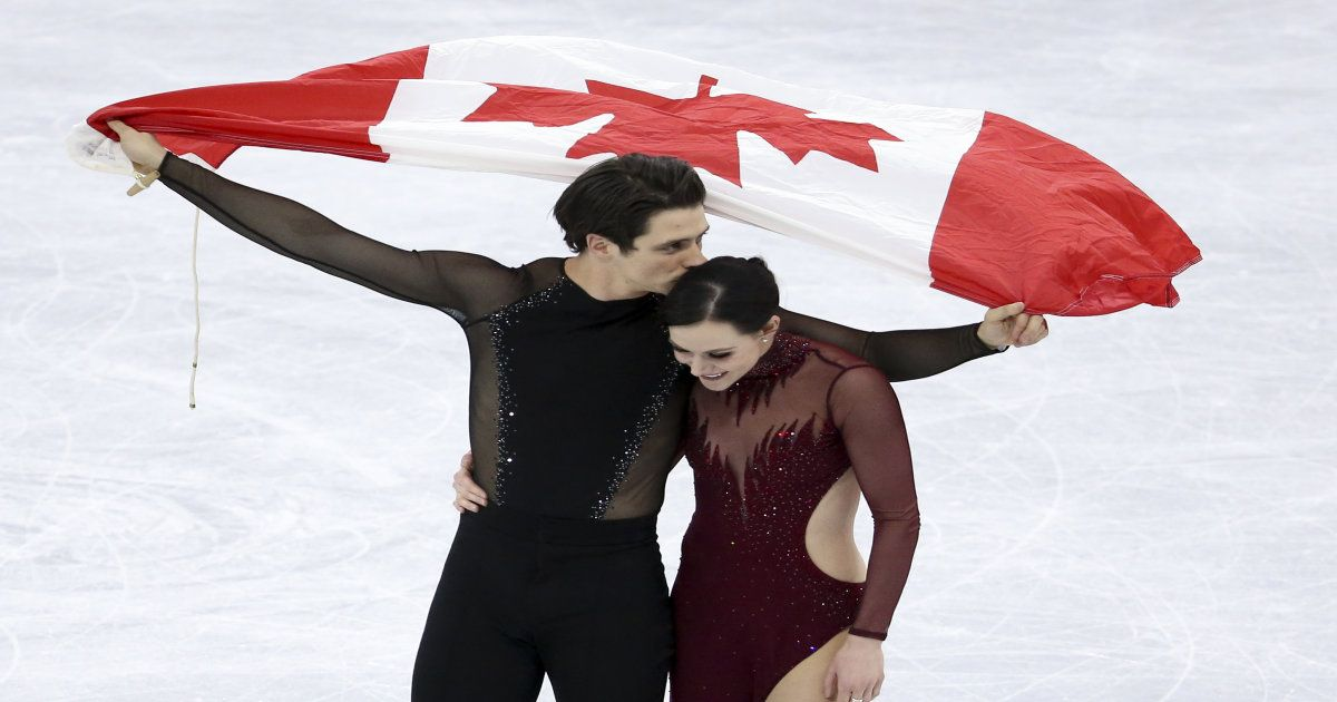 Tessa And Scott. Phylicia. Mark. We Loved These Olympic Stories