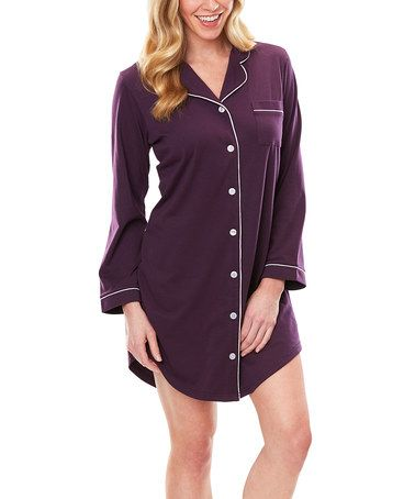 Look What I Found On Zulily Deep Plum Moisture Wicking Meghan