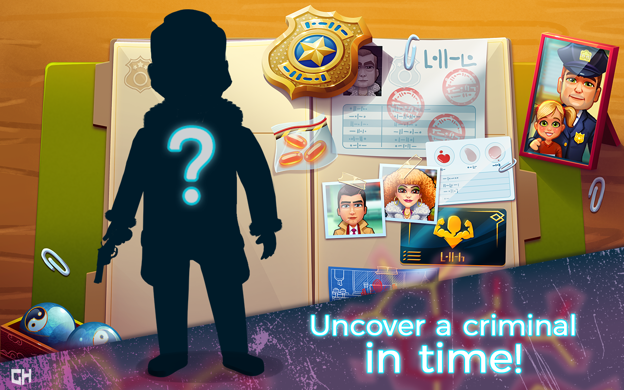 Parker Criminal Justice Criminal Game App