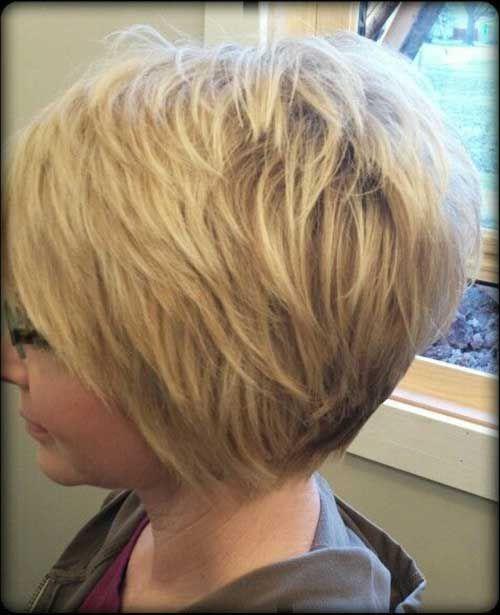 Geschichtete kurze Haarschnitte, die Sie lieben werden - Einfache Frisur