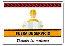 Cartel Fuera De Servicio Para Imprimir Cartel Gratis Cartel