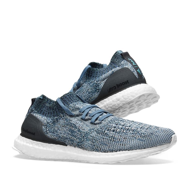 competitive price fa350 787c2 Adidas Ultra Boost Uncaged Parley Raw Grey, Chalk Pearl  Blue 7
