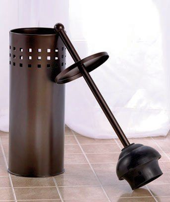 Toilet PlungerOil Rubbed Bronze by GetSet2Save >>> Continue to the product at the image link.