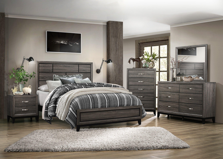 Homelegance Davi Modern Wood Wood Veneer Platform Bedroom Set Bedroom Sets Home Decor King Bedroom Sets