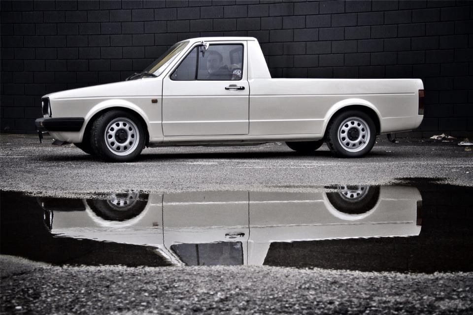 white caddy | VW Group sampler | Pinterest | Vw, Volkswagen and Mk1