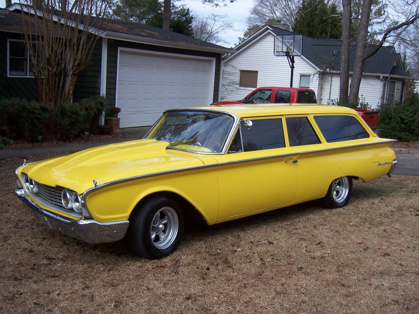60 Ford Ranch Wagon | eBay | Adrenaline Capsules | Pinterest | Ranch ...