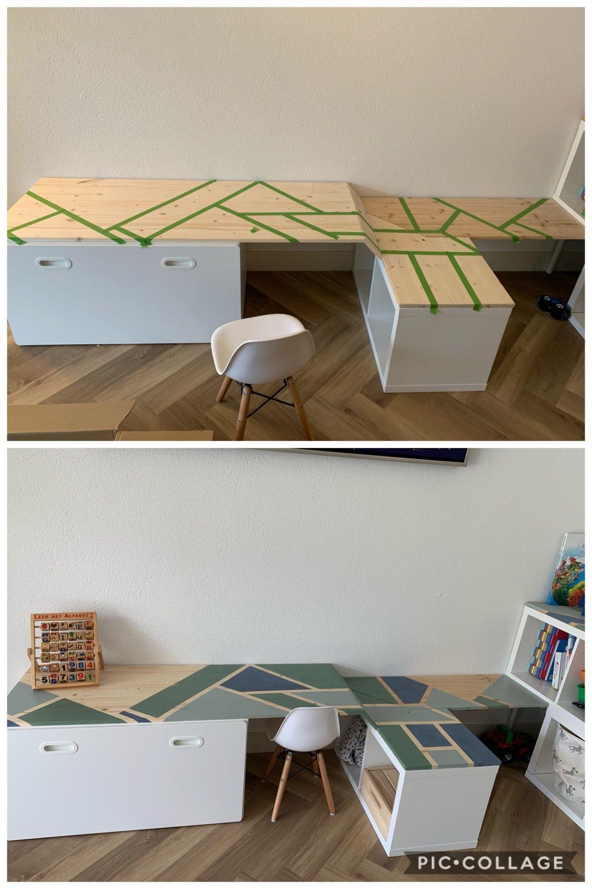 Good Images Ikea Stuva Kallax Hack For Kids Play Corner