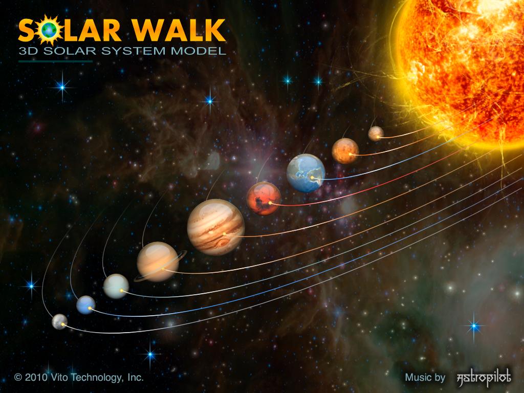 solar system Solar Walk 3D Solar System Model Review