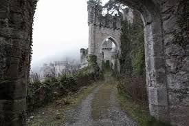 Image result for abandoned castle