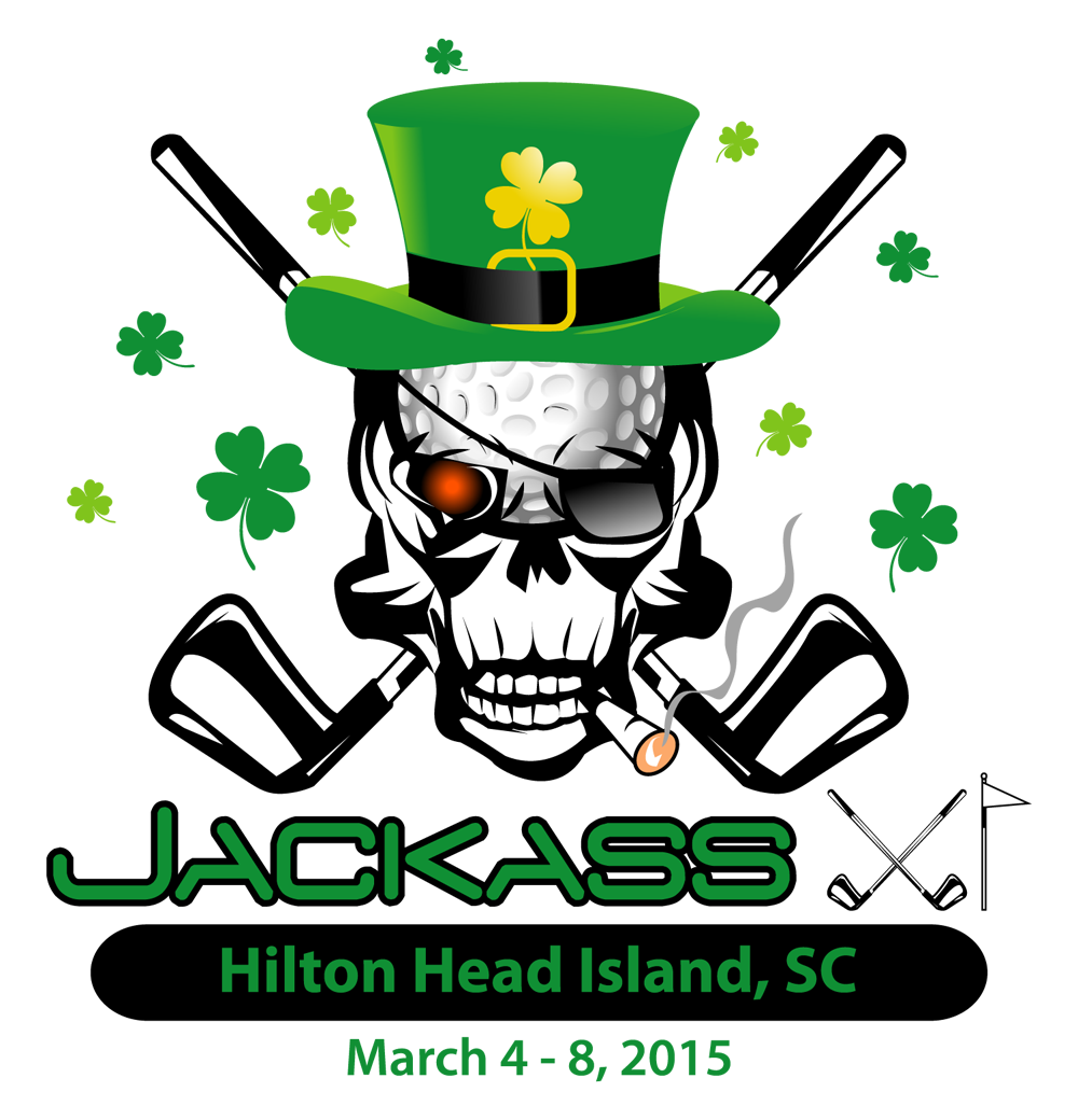 Jackass event logo design. It's all happening on March 4