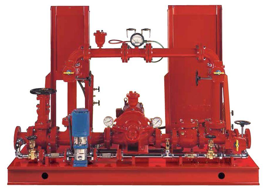 Diesel Driven Fire Booster Pump - Packaged Fire Pump System