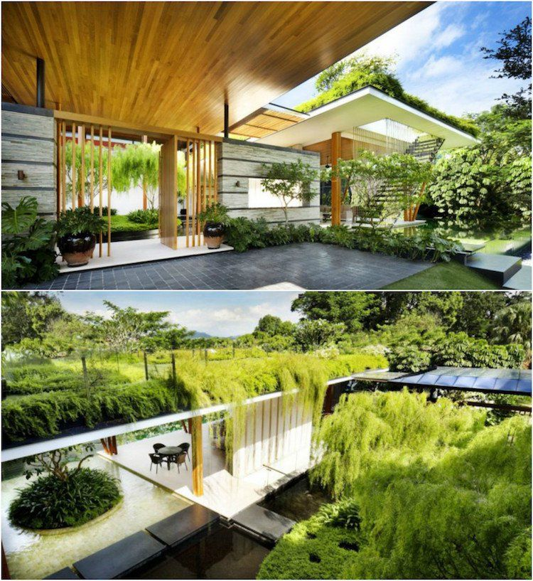 25 raisons en images pour préférer la maison avec toit terrasse   Maison toit terrasse, Design ...