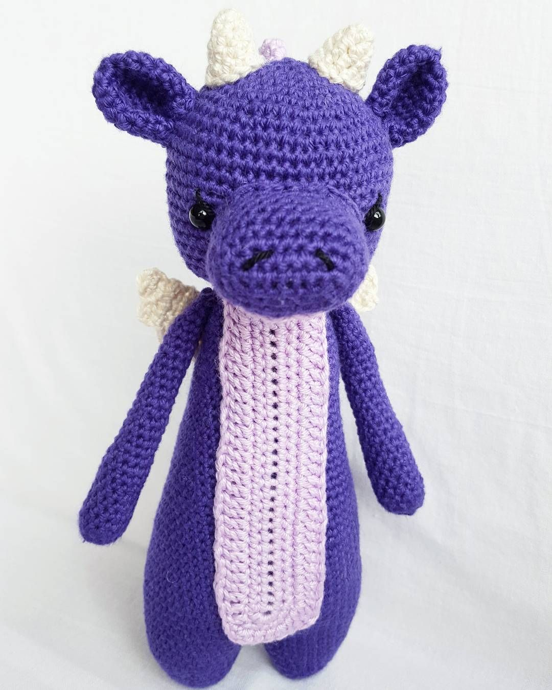 Dragon by jacq.haakt. Crochet pattern by Little Bear Crochets: www.littlebearcrochets.com ❤️ #littlebearcrochets #amigurumi