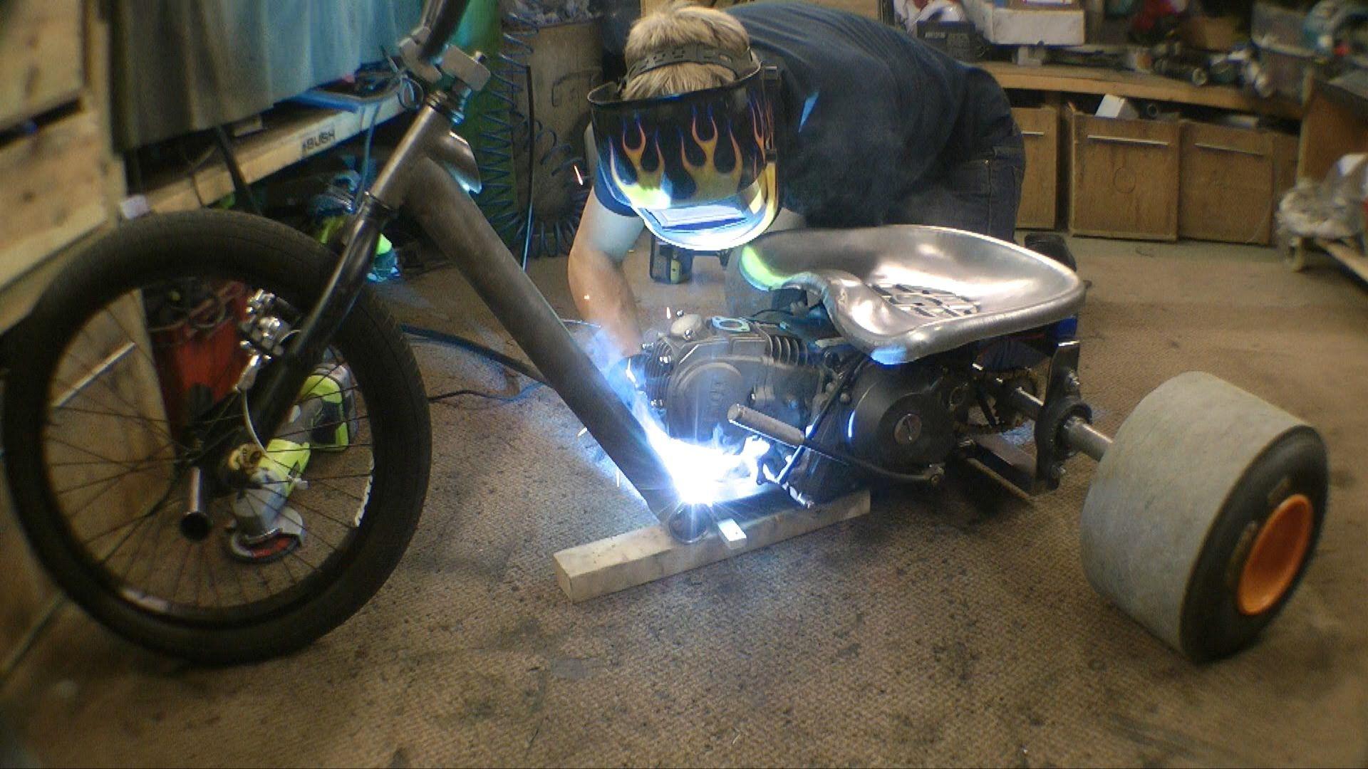 Great Making a Motorised Drift Trike