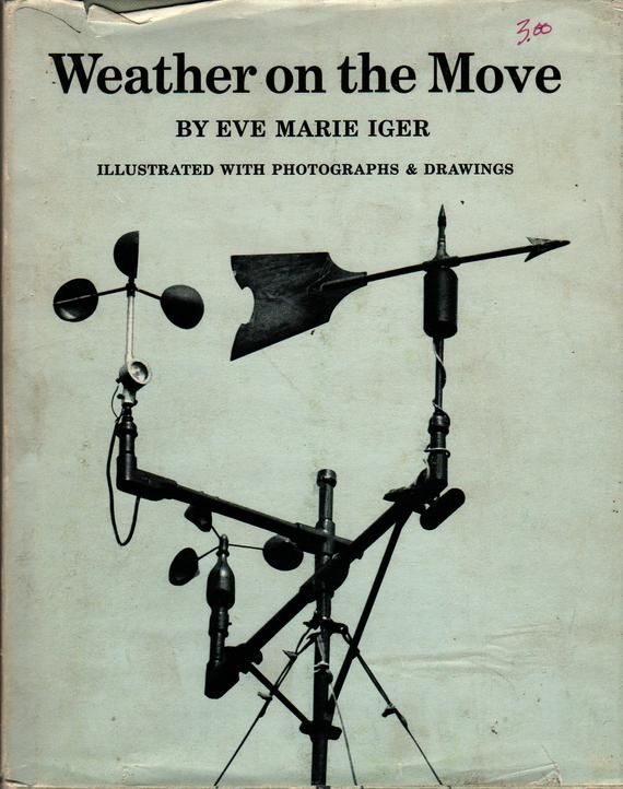 Weather on the Move  Eve Marie Iger  1970  Vintage Kids Book by HazelCatkins