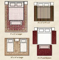 Bedroom Area Rugs Placement bedroom area rug placement - google search | bedroom | pinterest