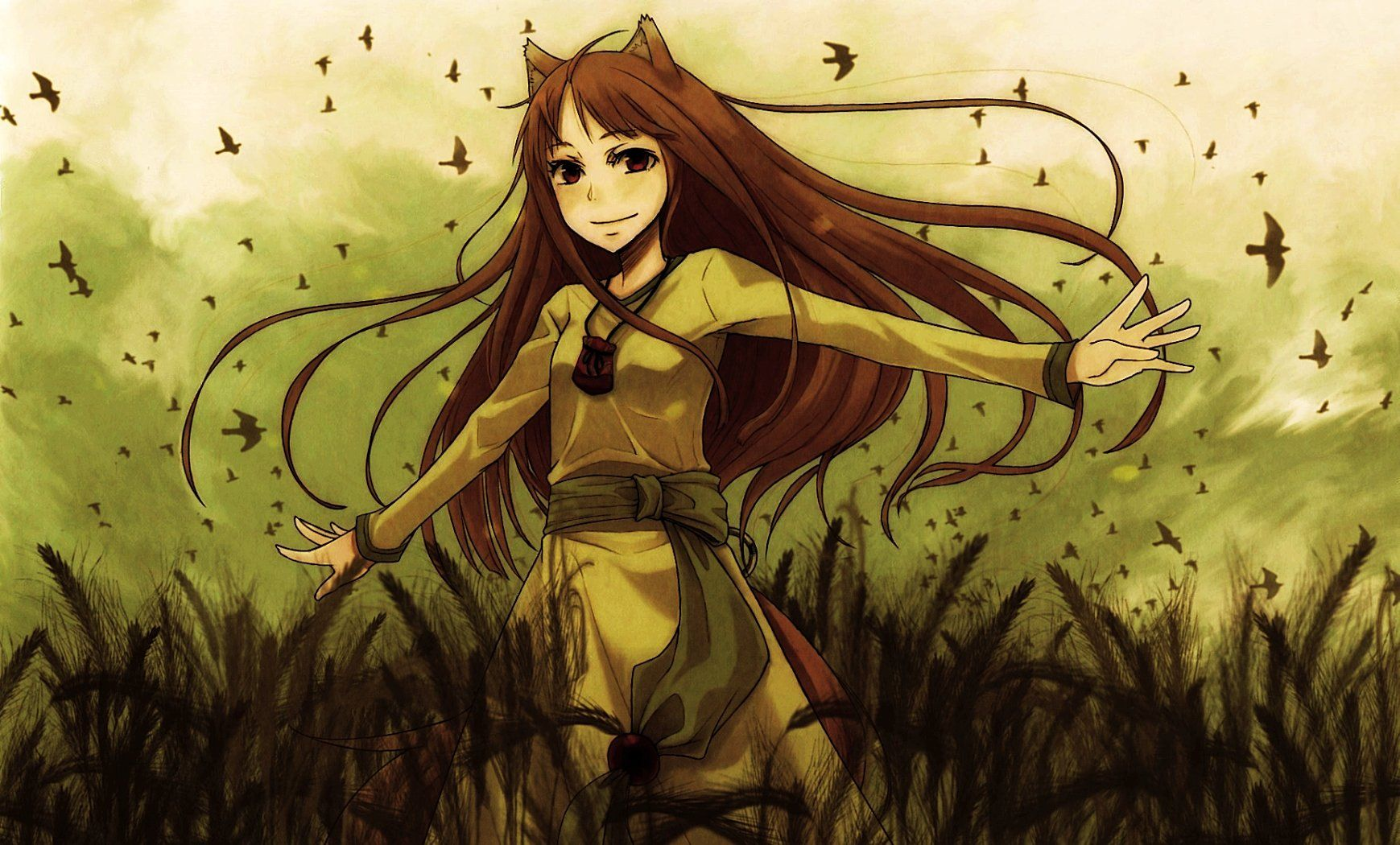Spice And Wolf Wallpaper Id 1024 768 Spice And Wolf Wallpapers 23 Wallpapers Adorable Wallpapers Spice And Wolf Wolf Wallpaper Scenery Wallpaper