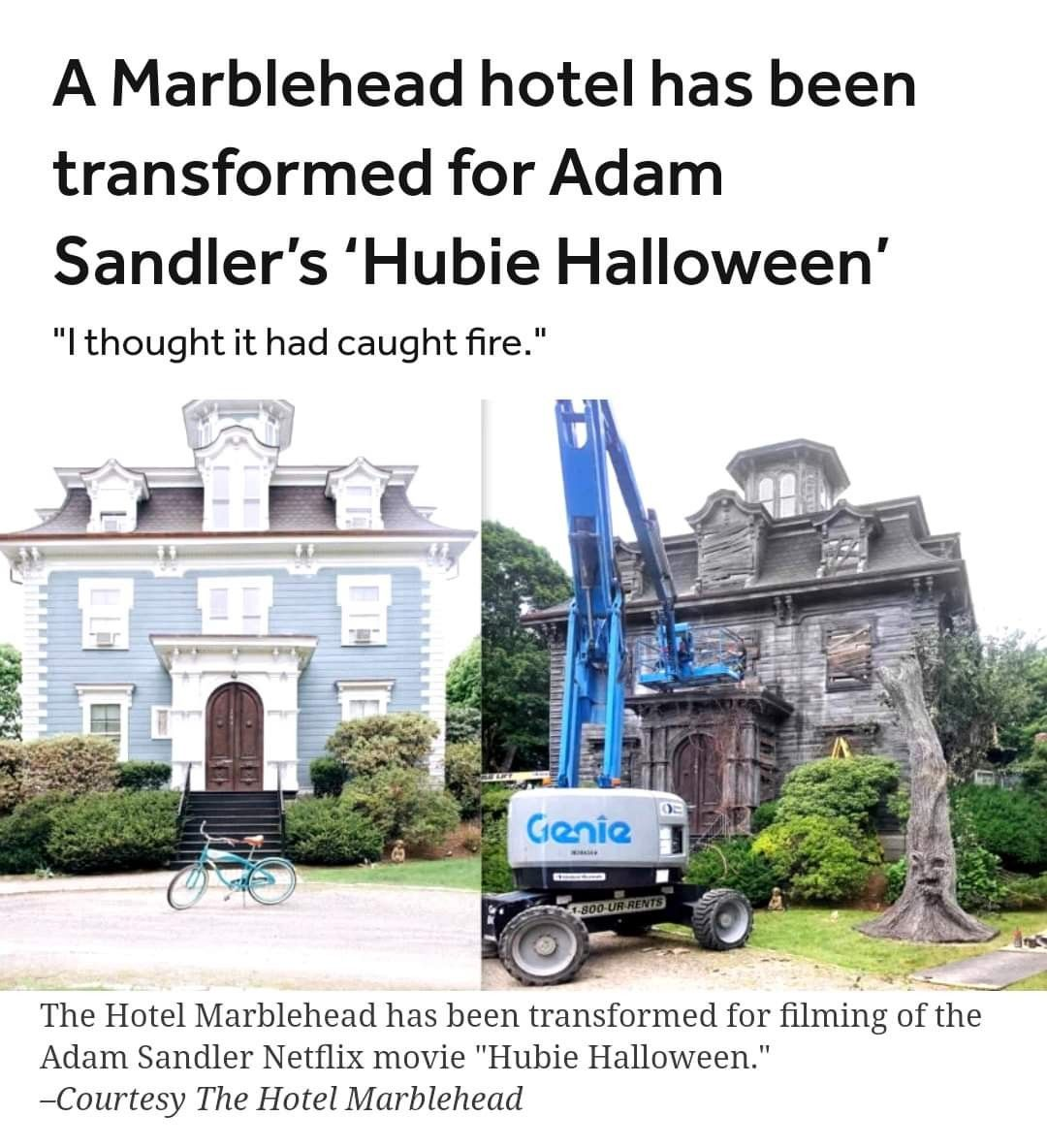 I Can T Wait To See Hubie Halloween Netflix Movie Halloween Marblehead