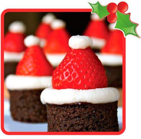 Postres originales de bizcocho de chocolate navidad - Cenas de navidad originales ...