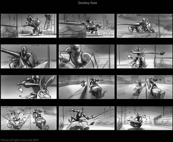Animation Storyboard By Jorge J Navarro Gonzalez Via Behance
