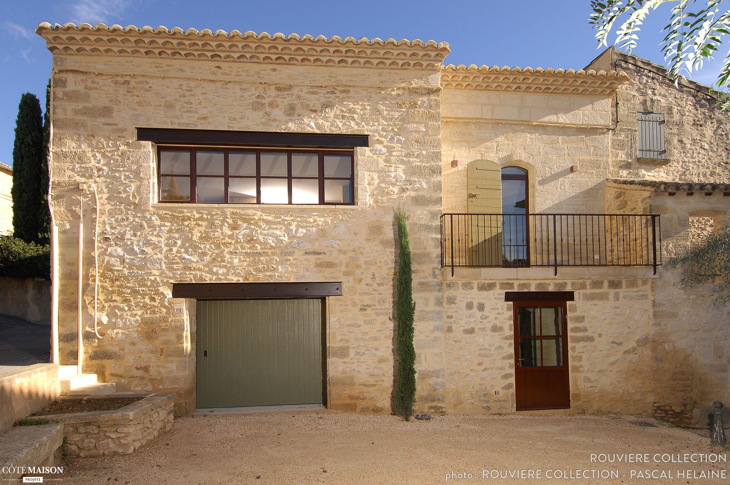 R novation d une maison traditionnelle proven ale uz s for Prix construction maison en pierre