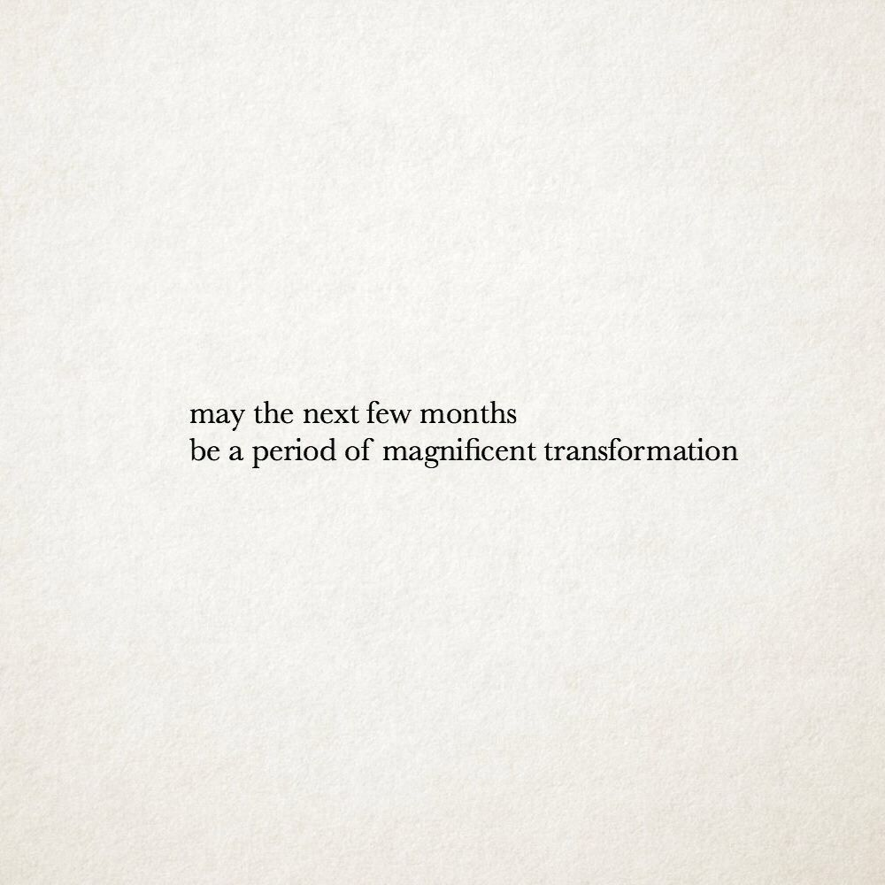 A period of magnificent transformation   on We Heart It